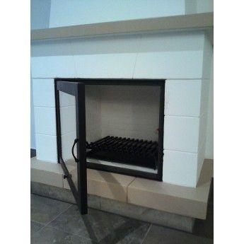 Puerta para chimenea 700x550mm