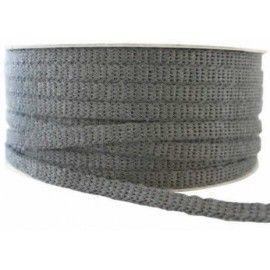 Fita auto-adesiva de fibra de vidro preta para metros