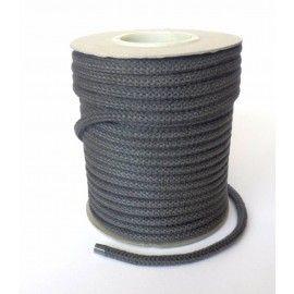 Cordão de fibra de vidro preto para metros