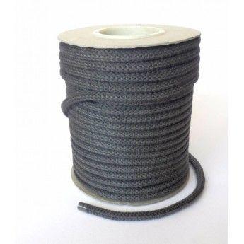 Cordón de fibra de vidrio negro a metros