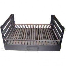 Composizione interna di barbecue con guide, su misura